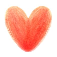 Free Watercolor Heart Royalty Free Stock Photography - 29033607
