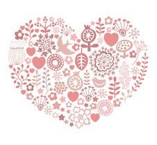Free Valentines Day Card Royalty Free Stock Images - 29034339