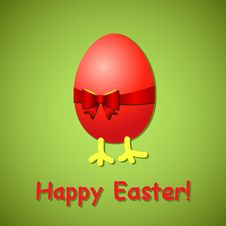 Free Easter Card Royalty Free Stock Photos - 29037088