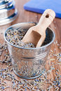 Free Pail Of Dry Lavender Stock Image - 29049741