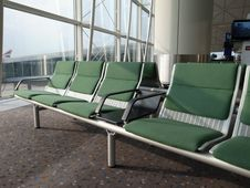 Free Airport Boarding Area Stock Photo - 29040850
