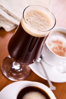 Free Coffee Frappe Stock Photo - 29045400