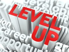 Free Level Up Concept. Royalty Free Stock Images - 29045949