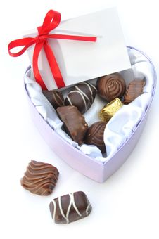 Free Valentines Chocolates Stock Photography - 29046422