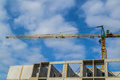 Free Crane And Construction Site Stock Photo - 29050310