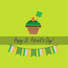 Free Card For St.patrick`s Day Stock Photography - 29050832