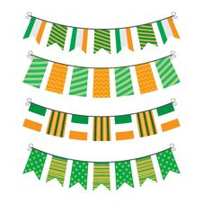 Free Bunting Of Flags Stock Photography - 29050982
