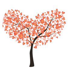 Free LoveTree Royalty Free Stock Photography - 29051287