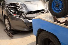 Free Carts, Forklifts Car Accident Stock Photo - 29058550