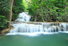 Free Deep Forest Waterfall In Kanchanaburi Stock Photo - 29058610