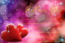 Free I Love You Stock Photos - 29058703