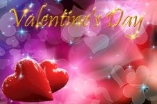 3D Valentine S Day Stock Photo