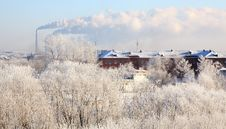 Free Winter Cityscape. Stock Image - 29059181