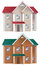 Free Houses Of Different Colors Stock Photography - 29054972