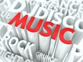 Free Music Concept. Stock Image - 29061171