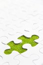 Free Missing Puzzle Piece Stock Photography - 29061542