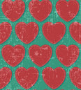 Free Hearts Retro Grunge Seamless Royalty Free Stock Photography - 29061737