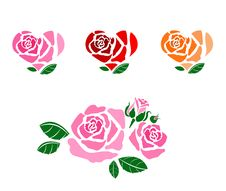 Free Roses Of Love Royalty Free Stock Images - 29060119