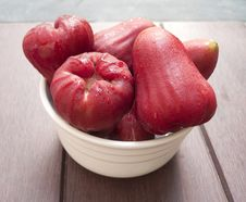 Free Red Rose Apple In A Cup. Royalty Free Stock Photo - 29060675