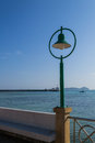 Free A Green Street Lamp Stock Images - 29070894