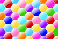 Free Candy Hexagons Wallpaper Stock Image - 29075151