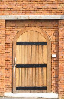 Free Wooden Door Royalty Free Stock Image - 29072466