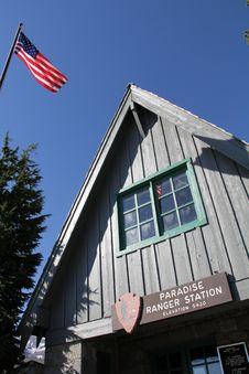 Free Mt Rainier Ranger Station Stock Photography - 29073372