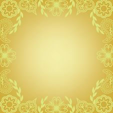 Free Floral Frame Royalty Free Stock Photos - 29075518