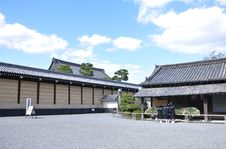 Ancient Japanese Architecture, Kyoto, Japan Stock Image