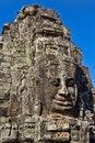 Free Angkor Face, Angkor Thom, Cambodia Royalty Free Stock Images - 29082209
