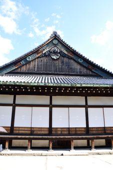 Free Nijo Castle Was Built In 1603 In Kyoto, Japan Stock Image - 29080311