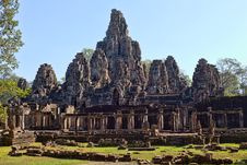 Free Angkor Wat Temple, Siem Reap, Cambodia. Stock Photos - 29082223