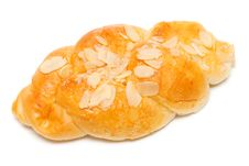 Free Bun With Poppy Insulated On White Royalty Free Stock Photo - 29082255