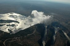Free Victoria Falls - Aerial View Stock Images - 29082454