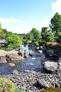 Free Garden With Pond In Japanese Style In Nijo Castle Royalty Free Stock Image - 29098156