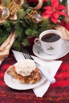 Free Apple Pie A La Mode Christmas Theme Royalty Free Stock Photo - 29095615