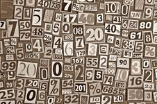 Free Numbers And Percentages Stock Images - 29099654