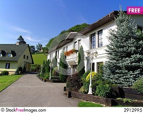 Free Holiday House Royalty Free Stock Photo - 2912995