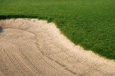 Free Golf Bunker Stock Photos - 2910073