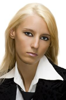 Free Portrait Of Businesswoman Stock Image - 2911251