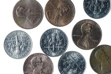 Free American Coins Royalty Free Stock Photos - 2911578