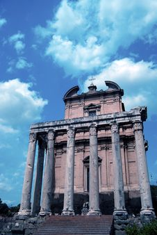 Free Building At The Roman Forum Stock Photography - 2912212