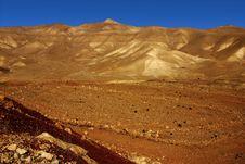 Free Jordanian Valley ,10 Stock Image - 2912381