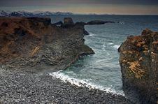 Coastal Scene Royalty Free Stock Photo