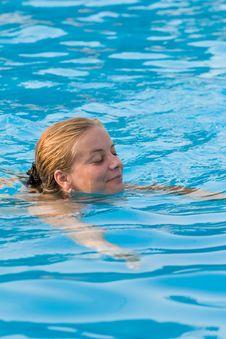 Free Blue Swim Stock Photos - 2913063