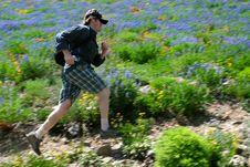 Free Trail Runner Stock Photo - 2913710