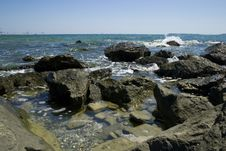Free Rocks At Sea Coast Stock Photography - 2914212