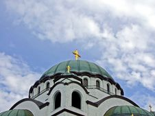 Free Church Dome Royalty Free Stock Photo - 2915465