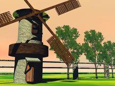 Free A Farm Royalty Free Stock Photo - 2915555