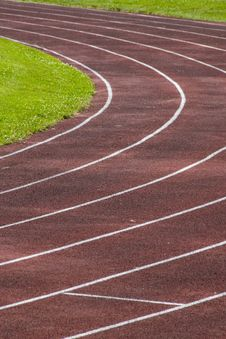 Free Running Track Royalty Free Stock Images - 2915739